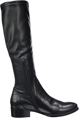 Jb Martin Australe - Botas clásicas hasta la rodilla Mujer Noir (T Velv St/Vrio Em Lit Croc Noir)