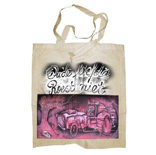 My Custom Style® Shopper in cotone naturale di colore nero modello Murales scheletromanici medi da 50cm; formato borsa 38x42cm. La seconda foto si riferisce al modello di borsa scelto, limmagine pr