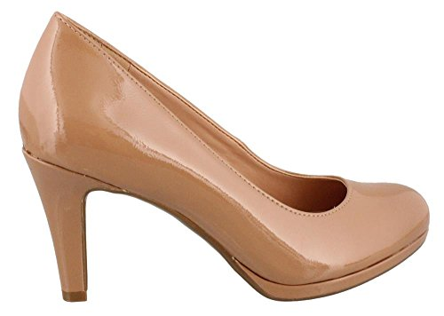 Naturalizer Women's Michelle Nude Shiny 8.5 N (AA)