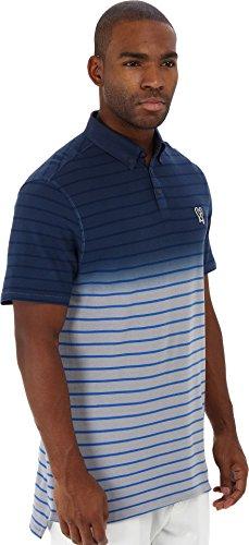 Marc Ecko Cut & Sew Men's Sprayed Dye Polo Squid Spray Polo Shirt LG