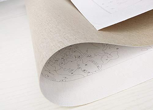 wwdfdd Peinture par Num/éro Peinture De Style Chinois Bricolage Dessin /À La Main Toile Coloriage Peinture par Num/éros pour Adultes Enfant Unique Cadeau Chambre Mur Art 40X50CM