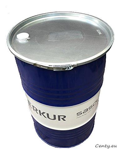 200 Liter Metallfass mit Deckel Stahlfass Ölfass Feuertonne Behälter Tonne Blechfass Stehtisch Sezai Sari