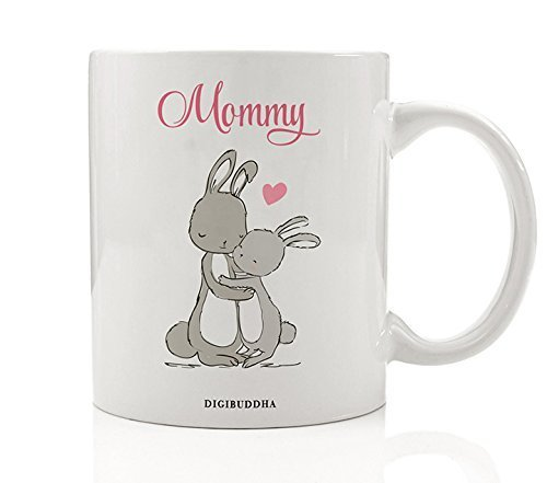 Bunny Mommy Mug, Rabbit Mother & Child Gift Idea for Her from Son Daughter  Boy - Amazon.com: Bunny Mommy Mug, Rabbit Mother & Child Gift Idea For Her
