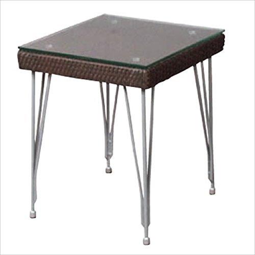 ガーデンテーブル Seba セバシリーズ サイドテーブル /ブラウン B076BZB4VN