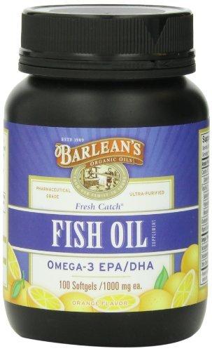 Barlean's Organic Oils - Fish Oil, 100 softgels by Barlean's Organic Oils by Barlean's