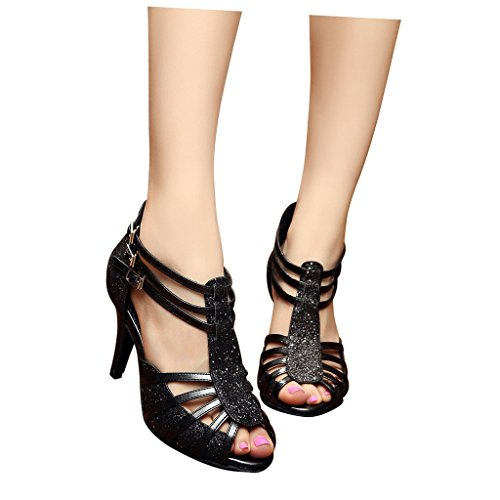 De Zapatillas Danza Misu Mujer Negro Para 50qW64wPRT