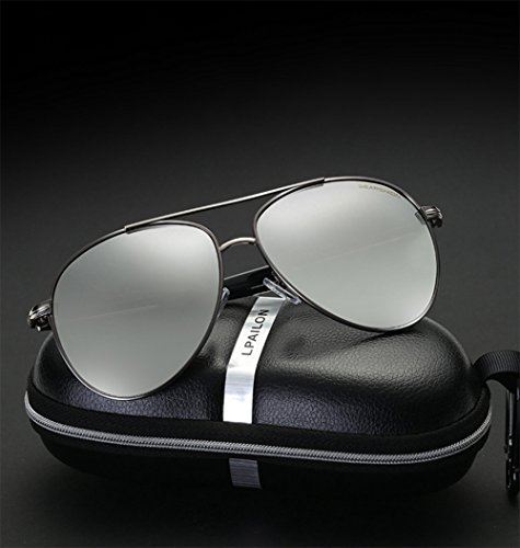 Polarizadas Sunglasses Blackgoldframe Men's YYTT Sra Fashion Sol reflectivemercuryfilm Gafas Brand De OqwSAgt