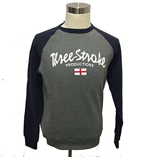 quite nice 7c1c4 c5b61 Felpa TS005 Albion - Navy Three Stroke Casuals terraces (XL ...
