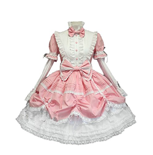 Cos store French Lolita Maid Princess Dress Halloween Costumes Anime Party Costumes For Womens -