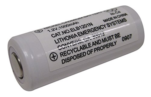 - Lithonia Lighting ELB 1201N 1.2V Emergency Replacement Battery