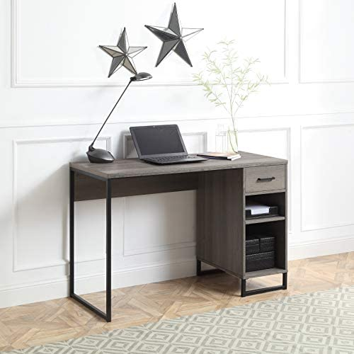OSP Home Furnishings Hagney Lane Desk, Farm Oak