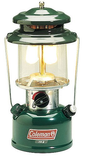 Coleman Two-Mantle Adjustable Gas Lantern, Outdoor Stuffs