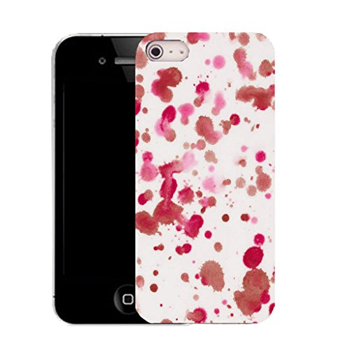 Mobile Case Mate iPhone 5c clip on Silicone Coque couverture case cover Pare-chocs + STYLET - pink lively pattern (SILICON)