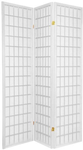 Amazoncom Room Divider Panel Screen White WH 3 Kitchen Dining
