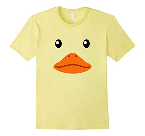 Mens Rubber Duck Costume (Mens Rubber Duck Costume Novelty Funny T Shirt Large Lemon)