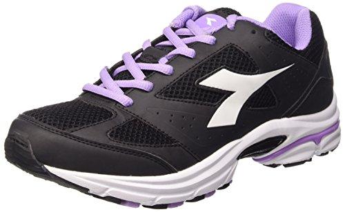 Diadora Shape 4, Chaussures Mixte Adulte, Gris noir/blanc