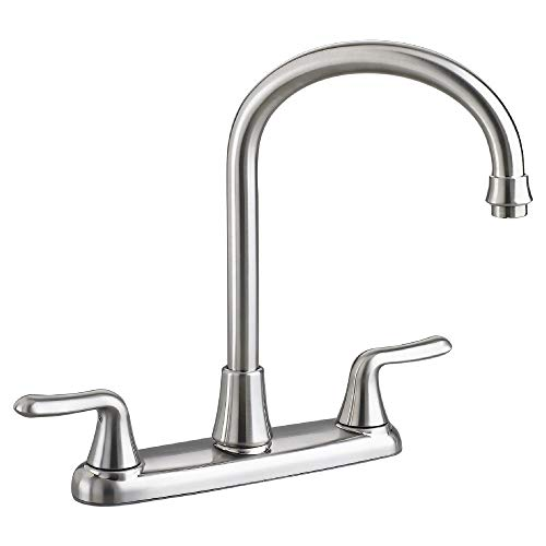 American Standard 4275550.075 Colony Soft Polished Chrome Gooseneck Faucet without Spray, 1.5 GPM, Stainless Steel