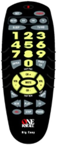 Discontinued by Manufacturer One For All URC 4330 Mainstream Line 4-Device Big Easy Universal Remote Control