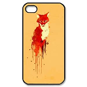 Customized Dual-Protective Case for Iphone 4,4S, Sly Fox Cover Case - HL-699628