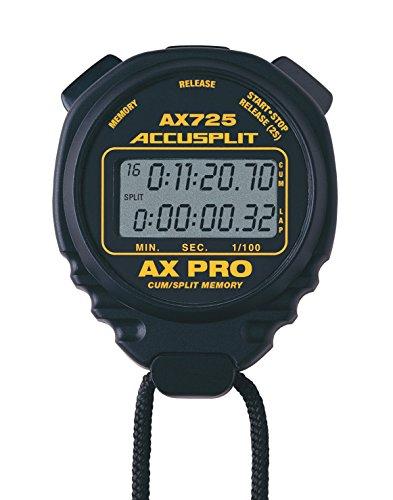 Accusplit AX725BK AX725 Series Stopwatch, Black