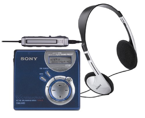 Sony MZ-NF610 High Speed Net MD Walkman Recorder