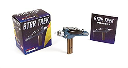 star trek light up phaser miniature editions