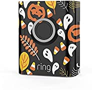 Ring Video Doorbell 3 and Ring Video Doorbell 3 Plus Holiday Faceplate - Halloween