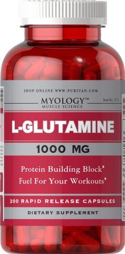 Myology L-Glutamine 1000 mg-200 Capsules