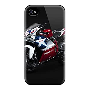 Perfect Hard Phone Case For Iphone 4/4s With Custom Vivid Yamaha Series JamesKrisky