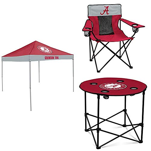 Crimson Tide Tent - Alabama Tent, Table and Chair Package