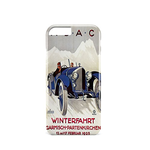 A.D.A.C Vintage Auto Poster 3D Full Coverage Phone Case Cover iPhone 6 (Vintage Ad Auto)