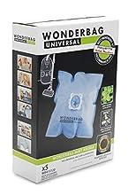 Rowenta WB415120 Pack de 5 bolsas para aspirador con 1 adaptador reutilizable, microfibra, color azul