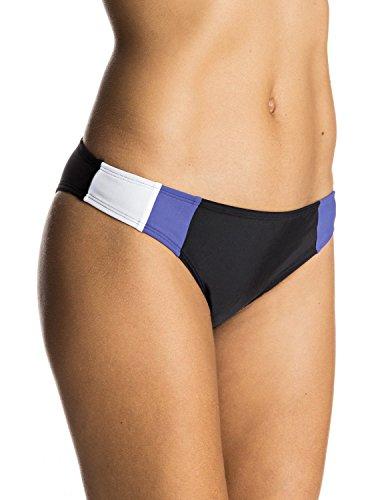 Roxy Women's Lisa Andersen Surfer Bikini Bottom, Anthracite,