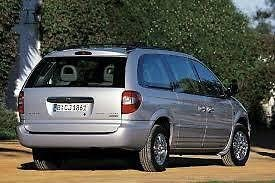 PSSC Pre Cut Rear Car Window Films for Chrysler Grand Voyager MPV 2000 to 2008 05/% Very Dark Limo Tint
