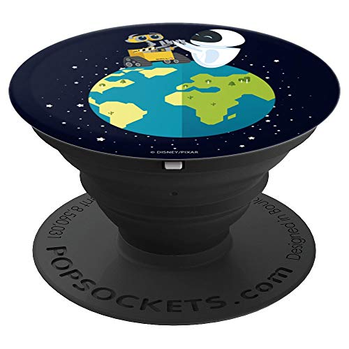 Disney Pixar Wall-E Eve On Earth - PopSockets Grip and Stand for Phones and Tablets