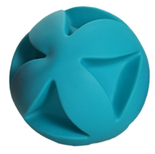 Soft-Flex Best Clutch Ball Dog Toy, 6-inch Teal by Hueter Toledo