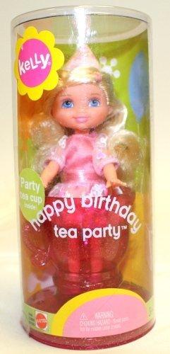 Amazon.com: Barbie Feliz cumpleaños Tea Party Kelly 4.5 ...