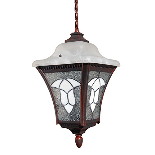 Outdoor Lighting Fixtures Stained Glass in US - 3