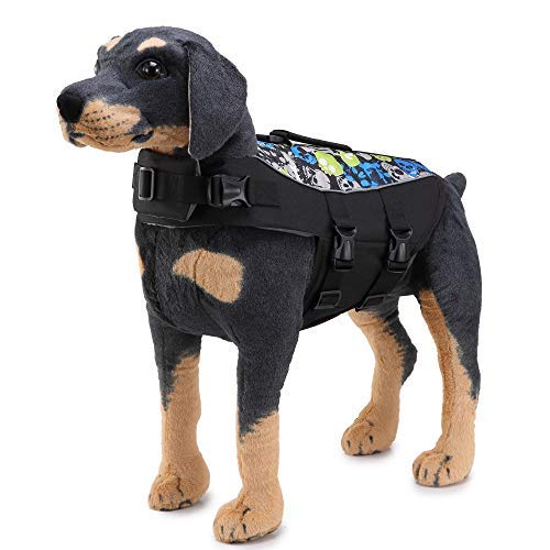 Unknown Kit_Kit Summer Pet Dog Swimwear Vest Life Jacket for Dogs Labrador Dogs Jackets Clothes Safety Pet Swimsuit