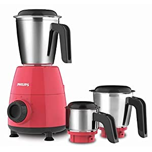 PHILIPS HL7505/02 500W Mixer Grinder, Red