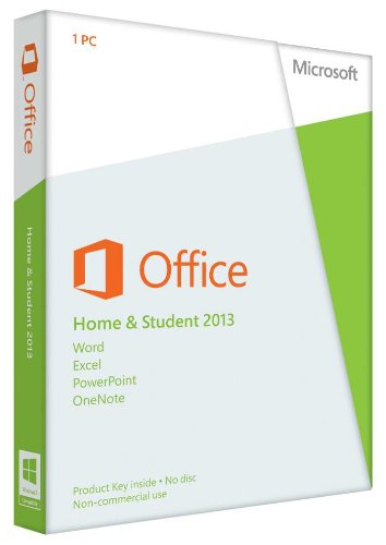 Microsoft Office 2013 Home and Student 32/64-bit (DVD)