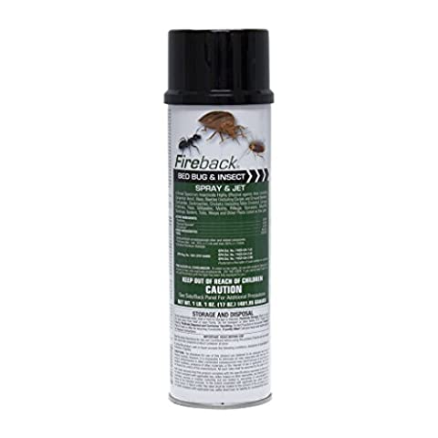 Fireback Bed Bug and Insect Spray - CASE (12 cans) (Fireback Bug Spray)