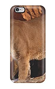 Fashion Tpu Case For Iphone 6 Plus- Lion Picture Defender Case Cover