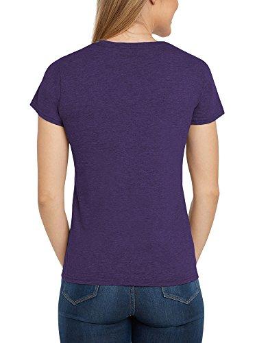 Disney Women's Fitted T-Shirt Eeyore What's Not to Love Print (Purple, Medium) by Disney (Image #1)