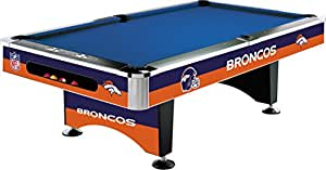 Imperial Officially Licensed NFL 8-Foot Billiard/Pool Table, Denver Broncos