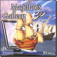 Brand New Dream Saver 3D Magellan's Galleon 3D Screensaver Stunning Color Graphics Sound Effects by Dream Saver 3D