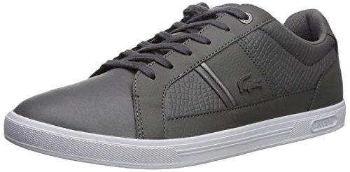 Lacoste Men's Europa 417 1 Sneaker, Dark Grey, 13 M US (Shoes Dress Lacoste)
