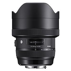 RetinaPix Sigma 12-24 mm f/4 DG HSM Art Lens for Nikon DSLR Cameras