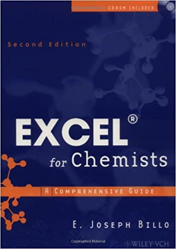 Excel for Chemists: A Comprehensive Guide (2nd Edition): E