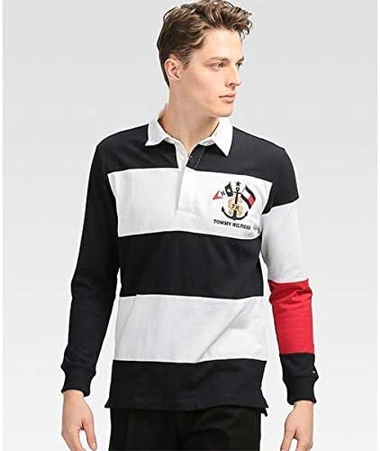トミーヒルフィガー(メンズ)(TOMMY) カラーブロックラガーシャツ